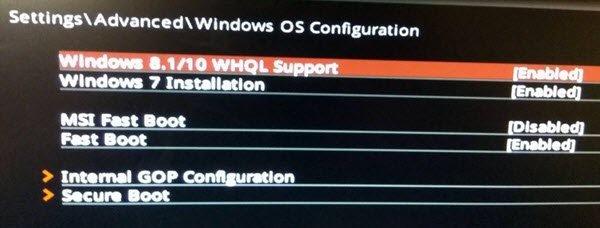 Windows-10-WHQL-UEFI