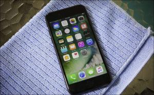 iphone-serviette