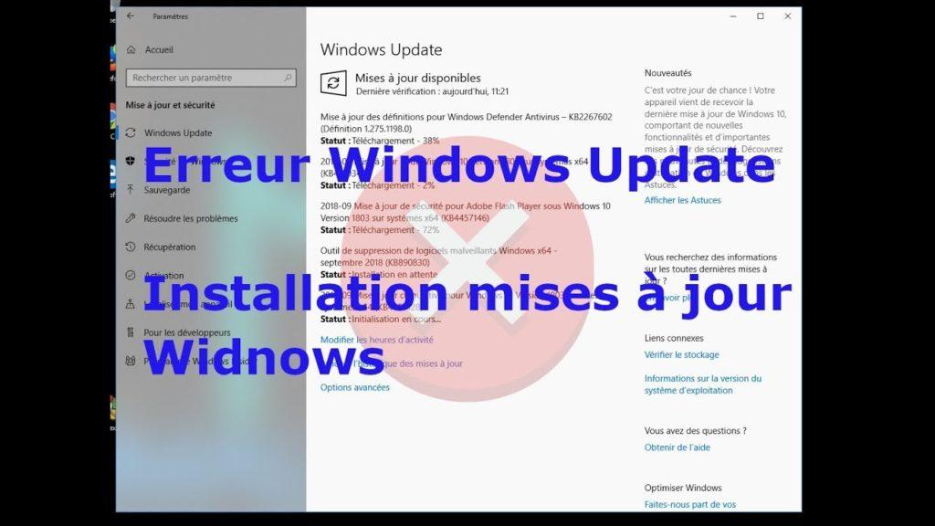 mise à jour-bloque-Windows 10-réparer-mise à jour