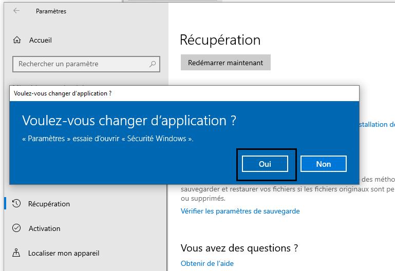 Changer-d'application