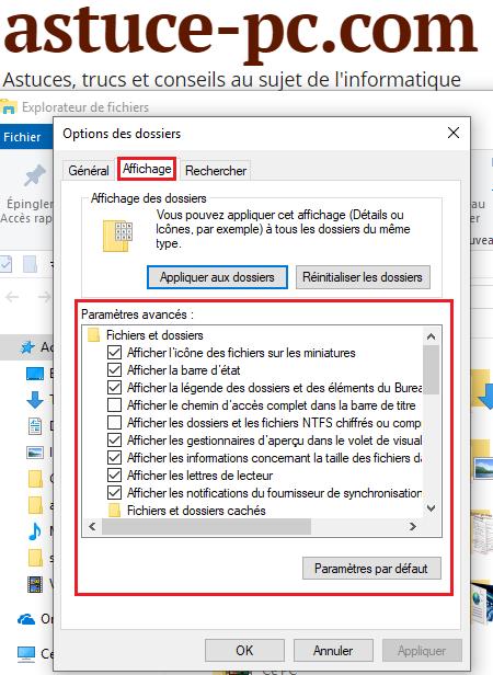 ouvrir-les-options-des-dossiers-dans-Windows-10-l'onglet-Affichage-