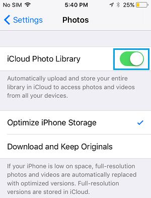 Paramètres-Photos-cloud