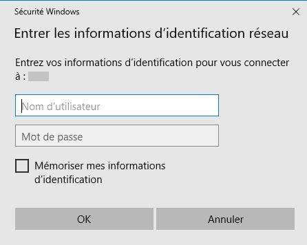 mapper-un-lecteur-réseau-dans-Windows-10-informations-d'identification-réseau