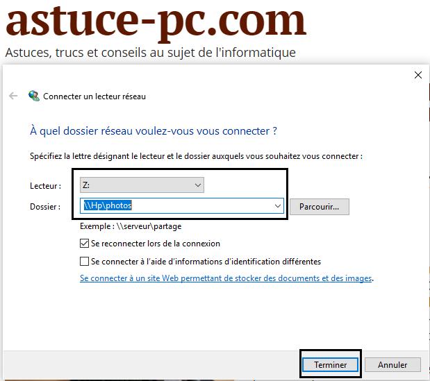 mapper-un-lecteur-réseau-dans-Windows-10-liste-des-lecteurs