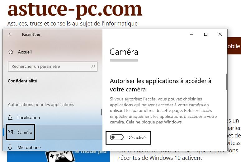 désactivez-l'option-Autoriser-les-applications-à-accéder-à-votre-appareil-photo
