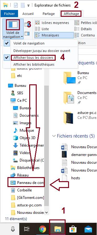 Explorateur-de-fichiers-Panneau-de-configuration