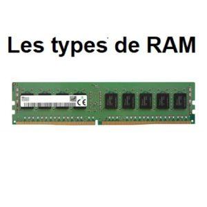 Les types de RAM