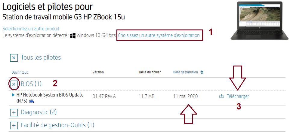 mettre-à-jour-le-BIOS-sur-un-ordinateur-de-bureau-portable HP-la-catégorie-BIOS