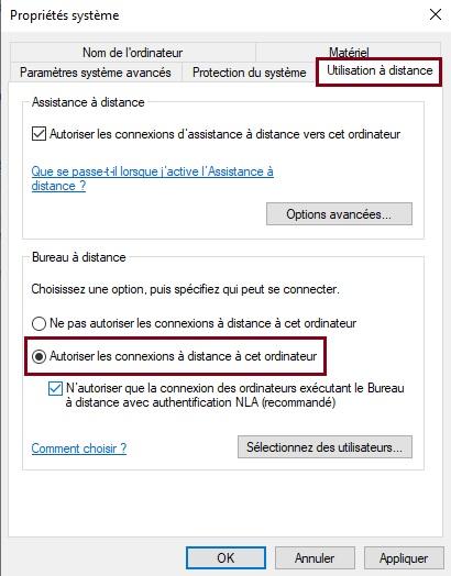 activer-et-désactiver-la-connexion-Bureau-à-distance-Autoriser-les-connexions-à-distance-à-cet-ordinateur