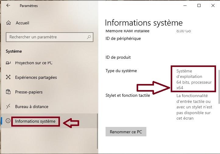 passer-de-Windows-10-32-bits-à-64-bits-Informations-système