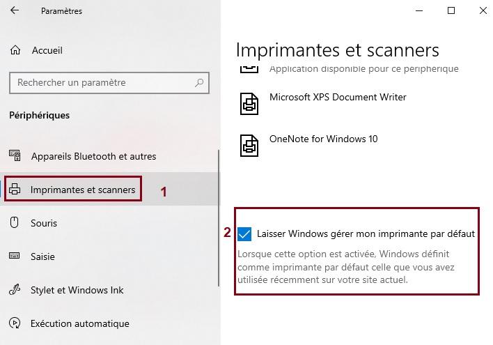 Laisser-Windows-gérer-mon-imprimante-par-défaut