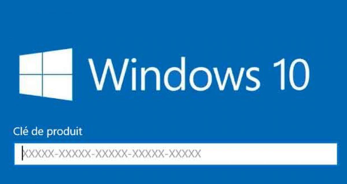 clé-de-produit-Windows-10