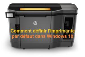 définir-l'imprimante-par-défaut-