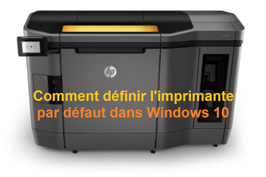définir-l'imprimante-par-défaut-dans-Windows-10