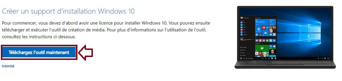 téléchargez-Windows-10-Media-Creation-Tool