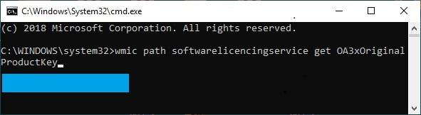 wmic-path-softwarelicencingservice-get-OA3xOriginalProductKey