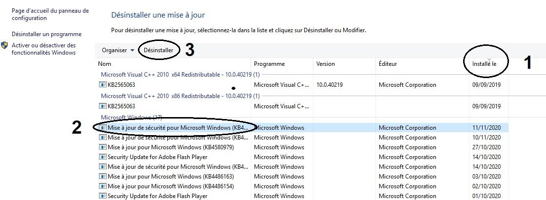 désinstaller-les-mises-à-jour-Windows